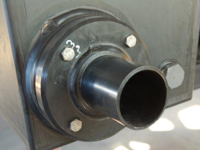 Duotank: 400 Liter Schaummittel + 2.400 Liter Löschwasser